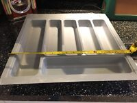 New unused Cutlery drawer insert- fit 500mm unit