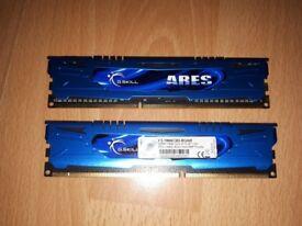 G.SKILL 2x 4GB 1866mhz Memory DDR3 PC3-14900