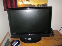 "22"" Flat Screen TV & DVD"