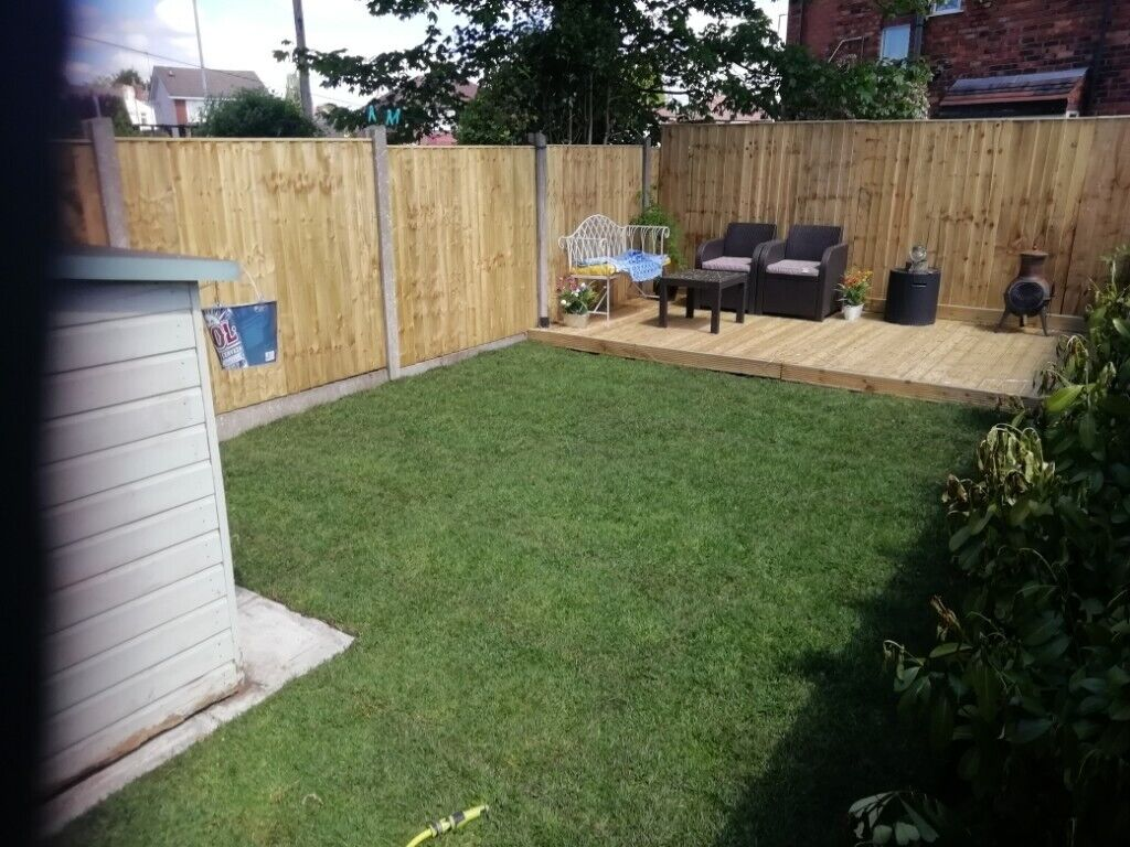 Acorn garden services patio paving flagging fencing driveway