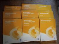 Osborne Accounting Study Books AAT Level 2 (9 books in total)