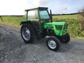 Deutz D 68 06 tractor good runner no vat