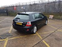 FOR SALE BLACK HONDA CIVIC 2005 BLACK LEATHER SEATS ONLY £865