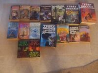 Fantasy novels by Terry Brooks