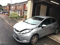 Ford Fiesta 1.2 2010 48000 Miles light front damage