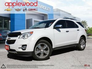 2012 Chevrolet Equinox LTZ V6, SUNROOF, POWER LIFTGATE, LANE...
