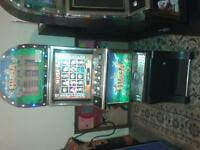 2008 19 inch lcd coin operated video arcade slot machine