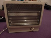 Modern 2 bar electric fire, working condition, hardly used.