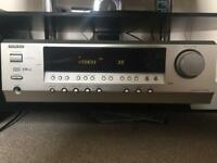 Onkyo HTR340 Amplifier with speaker