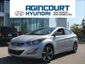 2015 Hyundai Elantra GLS/SUNROOF/BACKUP CAM/OFF LEASE