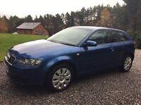 Audi A3 1.6 SE Petrol Hatchback, 3 door, manual, 2004, 98000 miles. Good condition & 5 months MOT