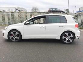 2011 VW GOLF 2.0 TSI GTI DSG * WHITE * LEATHER * F.S.H * MONZA ALLOYS * PART EX * FINANCE * DELIVERY