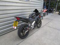 Honda CBR125R - Fitted extras!