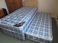 SINGLE BED WITH ADDITIONAL GUEST BED