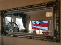Extra large wall hanging or lean mirror