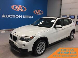 2013 BMW X1 xDrive28i, BLUETOOTH, HEATED SEATS, PANO ROOF, FIN
