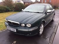 JAGUAR X TYPE 2.0 DIESEL (Full leather,)