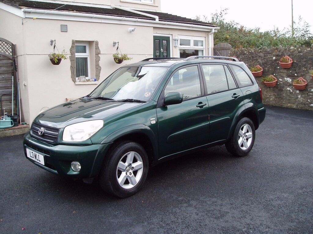 Toyota RAV4 2.0 VVT-I XT3 Petrol with private plate.