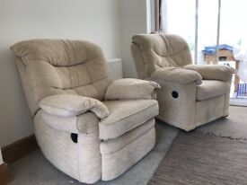 FREE 2 Fabric Recliners