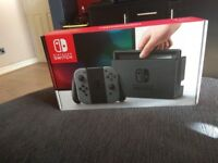Nintendo Switch Grey Console (NEW)