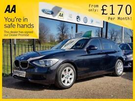 BMW 1 SERIES 2.0 116D ES 5d 114 BHP Apply for finance Online today! (black) 2012