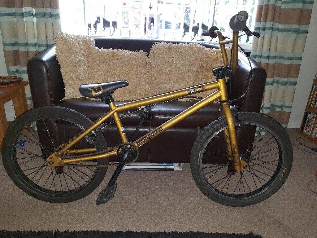 Mongoose gold BMX