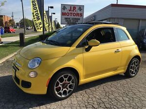 2015 Fiat 500 Sport, Automatic, Sunroof, ONLY 688KMS. Car is Bra