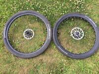 Pair Of 650b Wheels