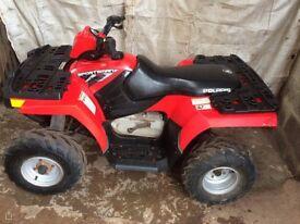 Polaris 90cc Quad Motorbike with Farm Kit