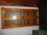 rare oak laboratory cupboard freestanding furniture