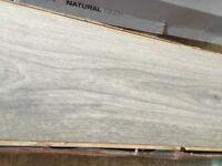 3 packs of grey laminate flooring