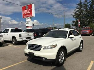 2004 Infiniti FX35 Loaded; Leather, Roof and More !!!
