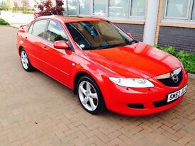 Mazda 6 sport 2.3 vvt in excellent condition throughout 1 owner 1 years mot no advisories top spec