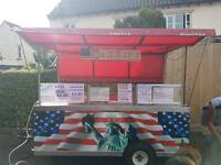 Catering trailer mobile