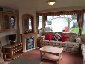 SALE ! 3 bedroom static caravan spacious family holiday home for sale 37x12 Essex
