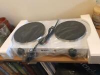 NEW! Two-ring hotplate