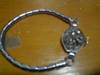 vieille montre bulova 21jevel marche tres bien liberty stainless