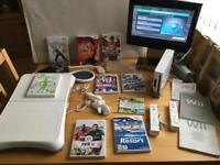 Wii Bundle + Games/Fit Board etc