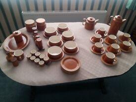 Hornsea Pottery - Saffron - Various Items
