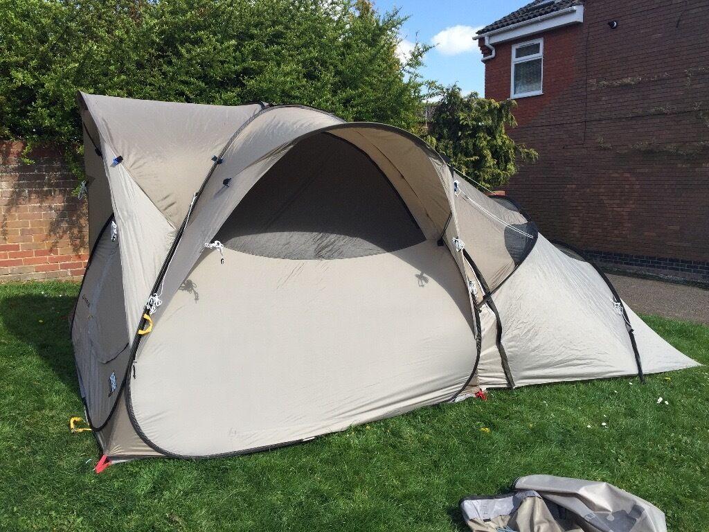 quechua decathlon base seconds 4 1 tent wigston. Black Bedroom Furniture Sets. Home Design Ideas