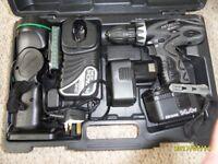 Hatachi Cordless Drill Kit.