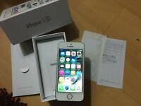 Apple iPhone 5s gold 16gb ee orange T-Mobile virgin bt boxed