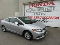 2012 Honda Civic LX Coupe AT
