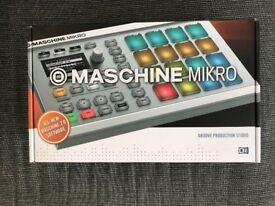 Maschine Mikro MKII - White - Hardly used - Boxed