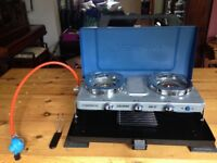 Campingaz Series 400 Double Burner Stove & Toaster