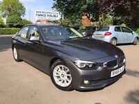 2015 BMW 320D ED PLUS 1 OWNER FROM NEW £20 TAX NAVIGATION CREAM LEATHER FINANCE £283 X 60 MONTHS
