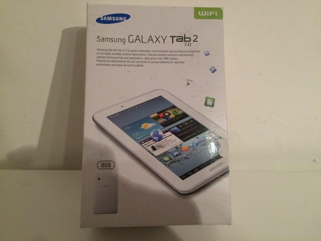 "Samsung Tab 2 -7""- Wifi - 8Gb Storage"
