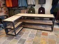 Industrial reception desks