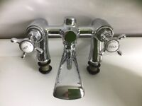 Chrome Bristan Bath mixer taps. Never been fitted.