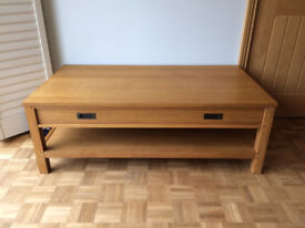 Solid Oak 'NEXT' Coffee Table.